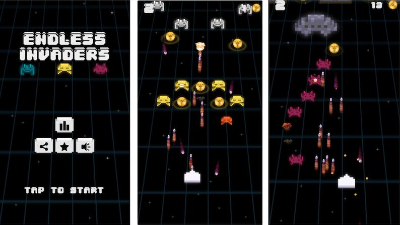 Endless Invaders Screenshots