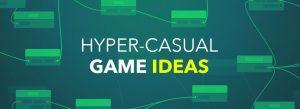 Hyper casual game ideas