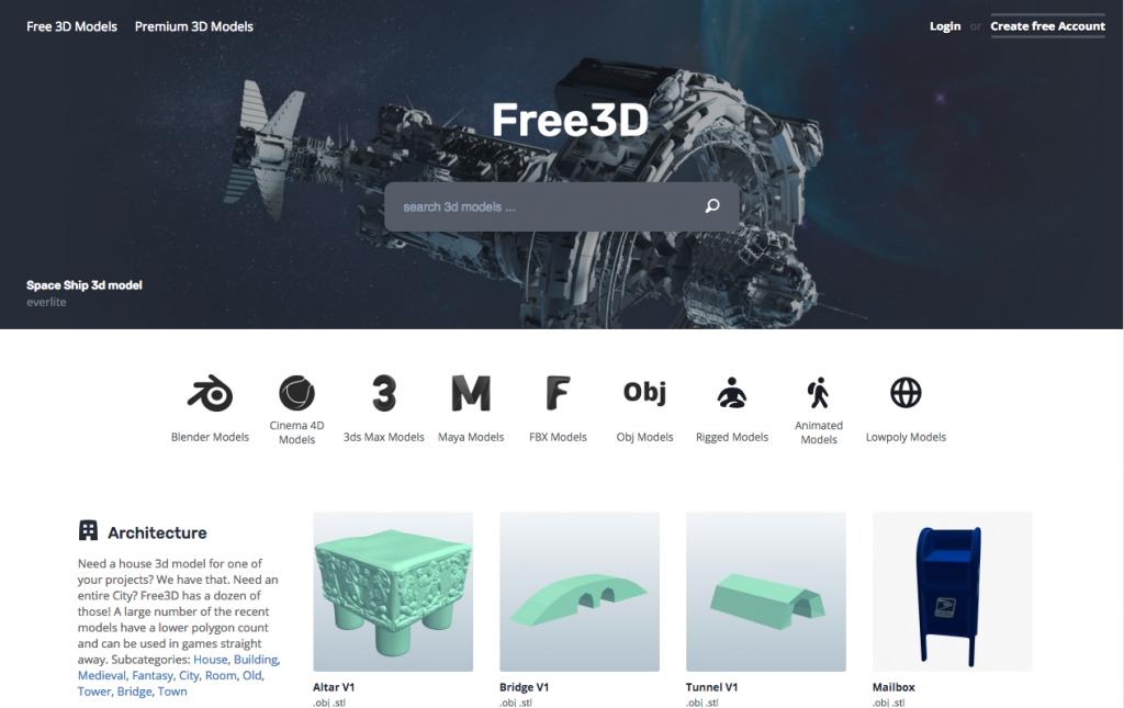 Free3D Game Art