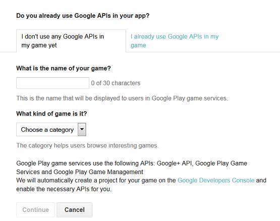 Google-GameServices