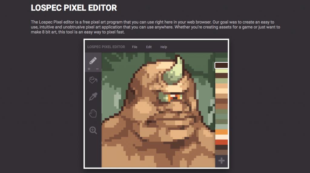 Lospec Pixel Editor