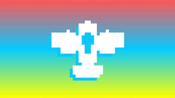 pixel scroll icon