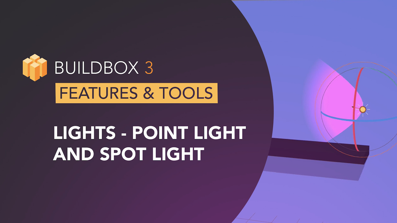 Lights – Point Light and Spot Light