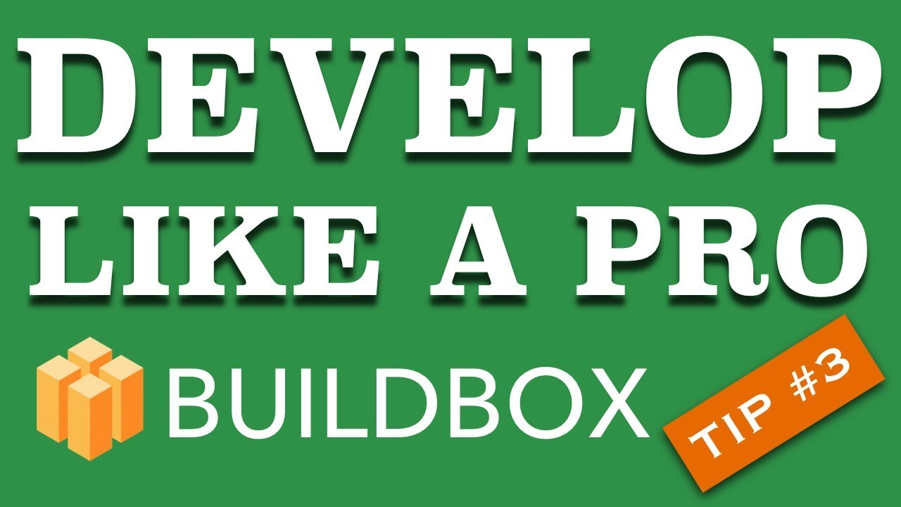 Develop Like A Pro – Buildbox Tip #3 – Cool User Interface Animations
