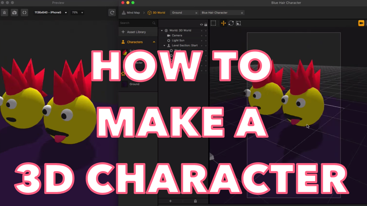 How To Quickly Make Your Own 3D Character