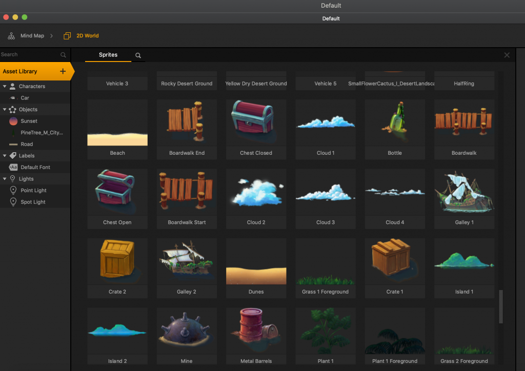 Buildbox asset library