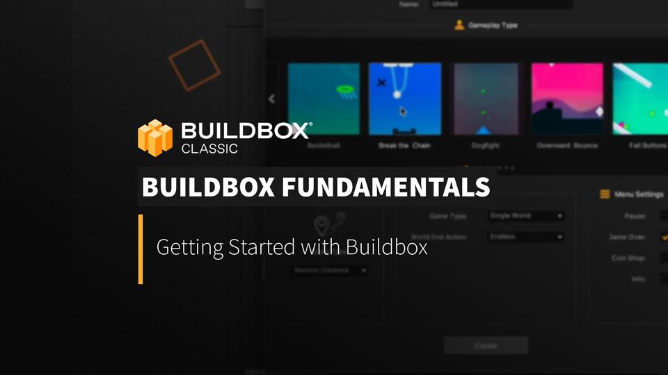Buildbox Fundamentals
