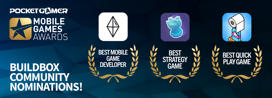 Pocket Gamer Awards Buildbox Community
